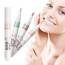 1Pc New Face Liquid Concealer Pencil Contour Highlighter Camouflage Pen Perfect Cover Blemish Makeup Flawless Foundation YE2