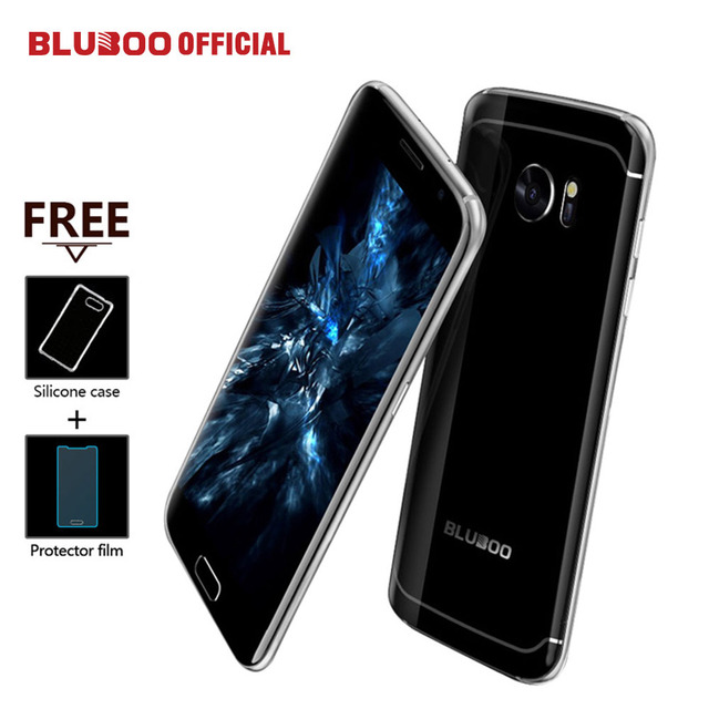 "BLUBOO Edge 4G LTE Smartphone 5.5"" HD Fingerprint Android 6.0 MTK6737 Quad Core 2GB RAM 16GB ROM 13MP+8MP OTG Mobile Phone"