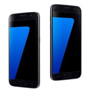 Image 4 - Samsung teléfono inteligente Galaxy S7 G930F/G930A/G930V, teléfono móvil libre con pantalla de 5,1 pulgadas, 32GB ROM, Quad Core, WIFI, GPS, cámara de 12MP, 4G LTE, reconocimiento de huella dactilar