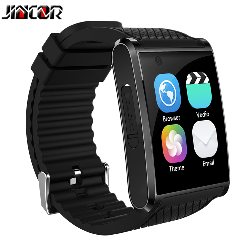 JINCOR X11 Bluetooth android5.1 smart watch built-in 200w pixel camera support WiFi information synchronization SIM smart watch emotion in information retrieval