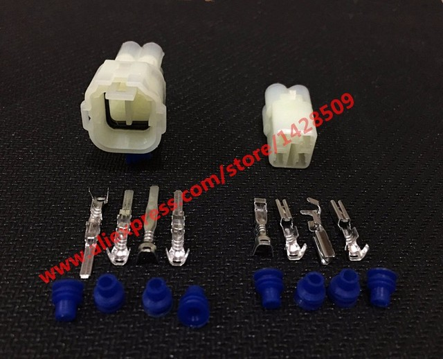 5 Sets Waterproof 4 Pin Connector HM .090 Sumitomo 6180-4181 6187-4441 Wire Connector Female And Male