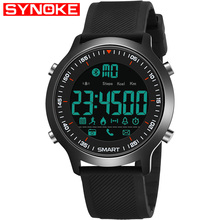 SYNOKE Smart Watch Sport Waterproof pedometers Message Reminder  Outdoor swimming men smartwatch for ios Android phone цены онлайн