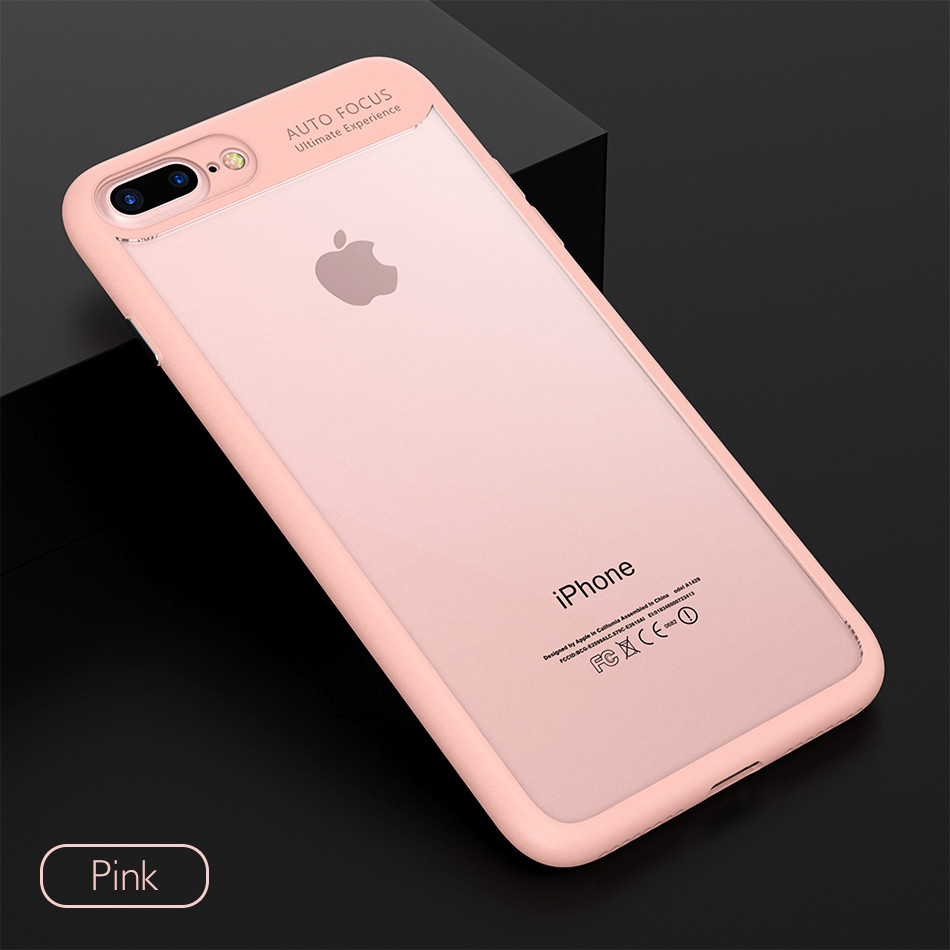 KISSCASE Phone Cases For iPhone 6 6s Plus 7 7 Plus Ultra Thin Soft TPU + Hard PC Back Cover Case For iPhone 7 7 Plus 6 6s Coque (10)