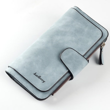 2019 New Wallet Women Big Capacity Three Fold Lady Purses High Quality Scrub Leather Female Wallets Clutch Feminina Carteira cheap Polyester Long Standard Wallets 18 8cm Coin Pocket Interior Compartment Photo Holder Note Compartment Zipper Poucht Card Holder