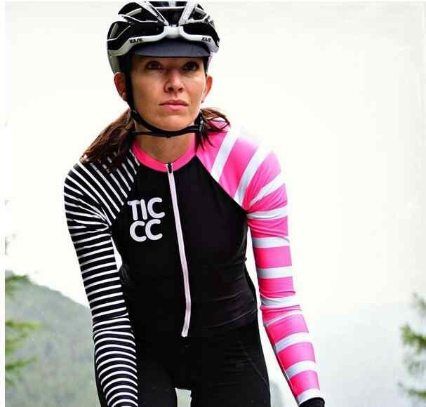 DuShow Women Cycling Jersey Long Sleeve Quick Dry Bike Bicycle Top Breathable Biking Shirt