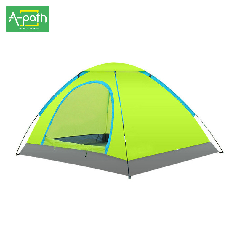 Outdoors Camping 2 Person Awning Ultralight Folding Waterproof Tourist Ultralight Garden Childrens Fishing Beach Tent high quality outdoor 2 person camping tent double layer aluminum rod ultralight tent with snow skirt oneroad windsnow 2 plus