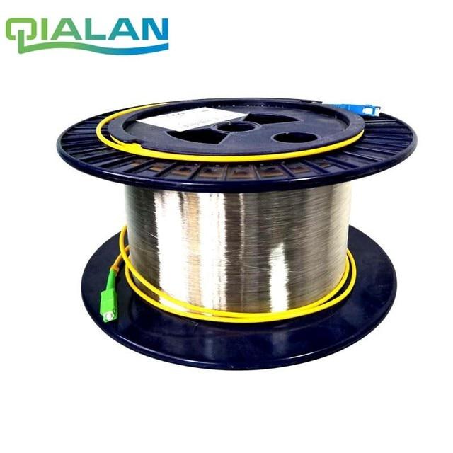 SC 1 キロメートル 9/125 シングル単一の裸ディスク OTDR 測定光ファイバ Otdr テスト光繊維リール