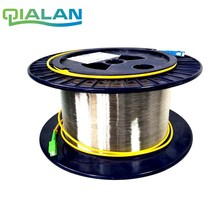 Sc 1 km 9/125 단일 모드 단일 베어 섬유 디스크 otdr 광섬유 케이블 측정 otdr 테스트 광섬유 릴