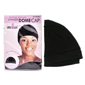 Image 5 - 12pcs/lot Dome Cap Elastic Stocking Hairnets Wigs Liner Caps Weave Cap Invisible Hair Net Nylon Stretch Wig Net Cap Black Color