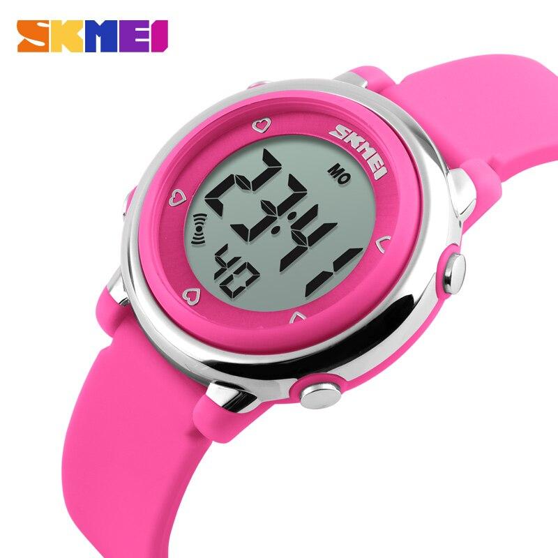92f8da19889 Skmei crianças led relógio digital crianças relogio feminino sports  relógios moda casual relógios de pulso da geléia dos desenhos animados para  crianças ...