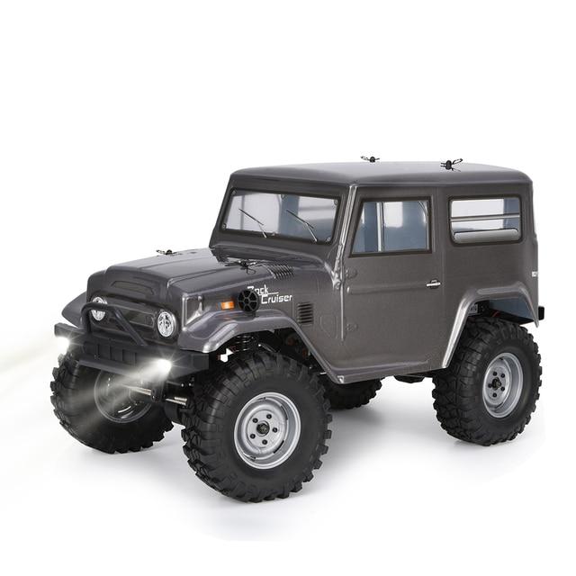 RGT Rc voiture 1:10 4wd hors route camion roche chenille RTR Rock Cruiser RC 4 136100V2 4x4 étanche passe temps Rc ramper