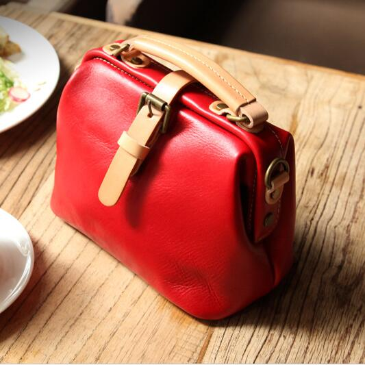 Top Brand Women Genuine Leather Doctor Bag New Arrival Handbags Fashion messenger Bags Small Casual Shoulder Bags Retro Totes hongnor ofna x3e rtr 1 8 scale rc dune buggy cars electric off road w tenshock motor free shipping