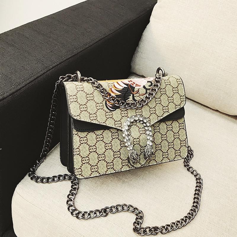 SZIVV New Handbags Women Bags Designer Chain Bag Women Messenger Bags Vintage Small Crossbody Bags For Women 2019 Bolsa Feminina 5
