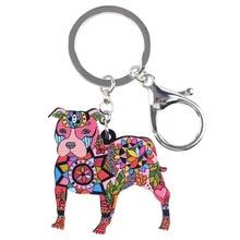 Pit Bull Key Chain For Women