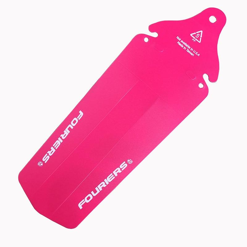 1 pcs Fouriers AC-MG002-R Pink sepeda sepeda Belakang Saddle Rail - Bersepeda - Foto 1