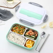 1000ML Healthy Life Lunch Box Japanese Style Benta Box with Chopsticks and Spoon for Free Outdoor Food Storage Container