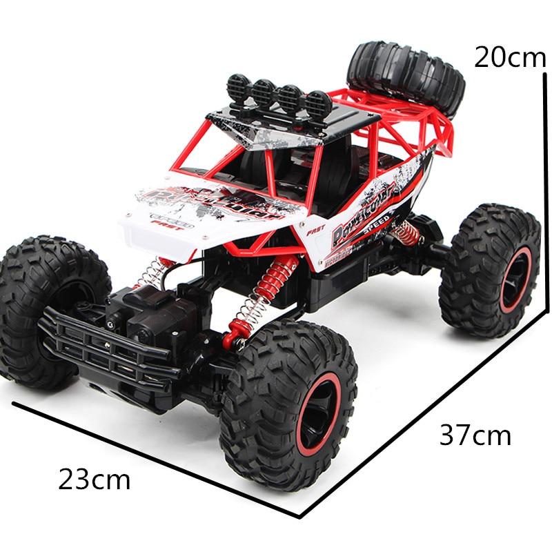 1:12 4WD RC voitures mise à jour Version 2.4G Radio contrôle RC voitures jouets Buggy 2017 haute vitesse camions tout-terrain camions jouets pour enfants 4