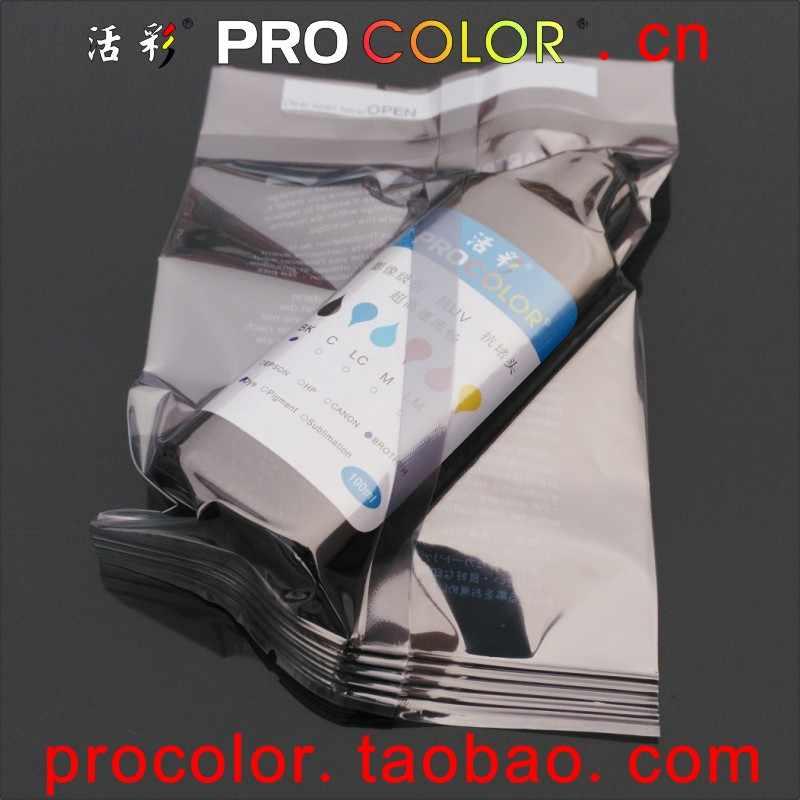 Kit de recambio de tinta pigmentada negra Compatible con cartuchos de tinta 100ML para CANON, HP, tinta de impresora universal para uso en cartuchos de tinta CISS con recarga de todas las herramientas