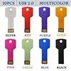 10pcs Lot Mini Car Key USB 2 0 Flash Drive Pendrives 1GB Flash Bellek Memory Stick