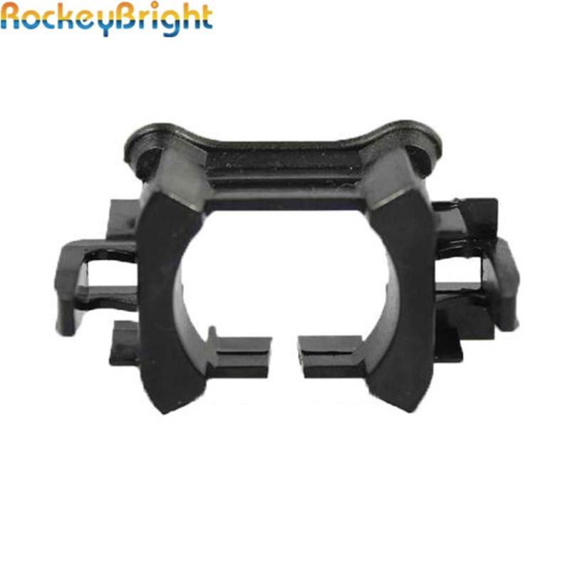 Rockeybright 2* H7 HID XENON Lamp BULBs Socket Holder Adapter for Peugeot 3008 508 Mondeo Citroen C5 Hid Xenon headlights Holder