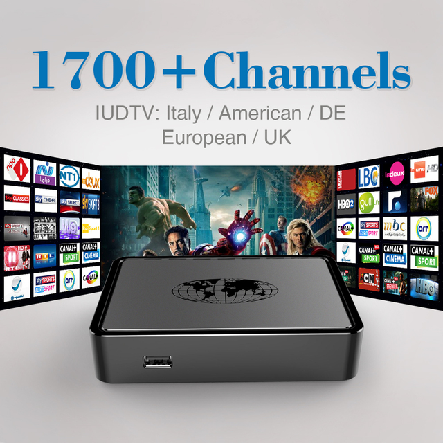 Mag 254 IPTV 1700 Canais Árabe IPTV Box HD Com Europeia Itália DE Canal Sky REINO UNIDO Francês Rússia Suécia Esportes IPTV Set Top Box