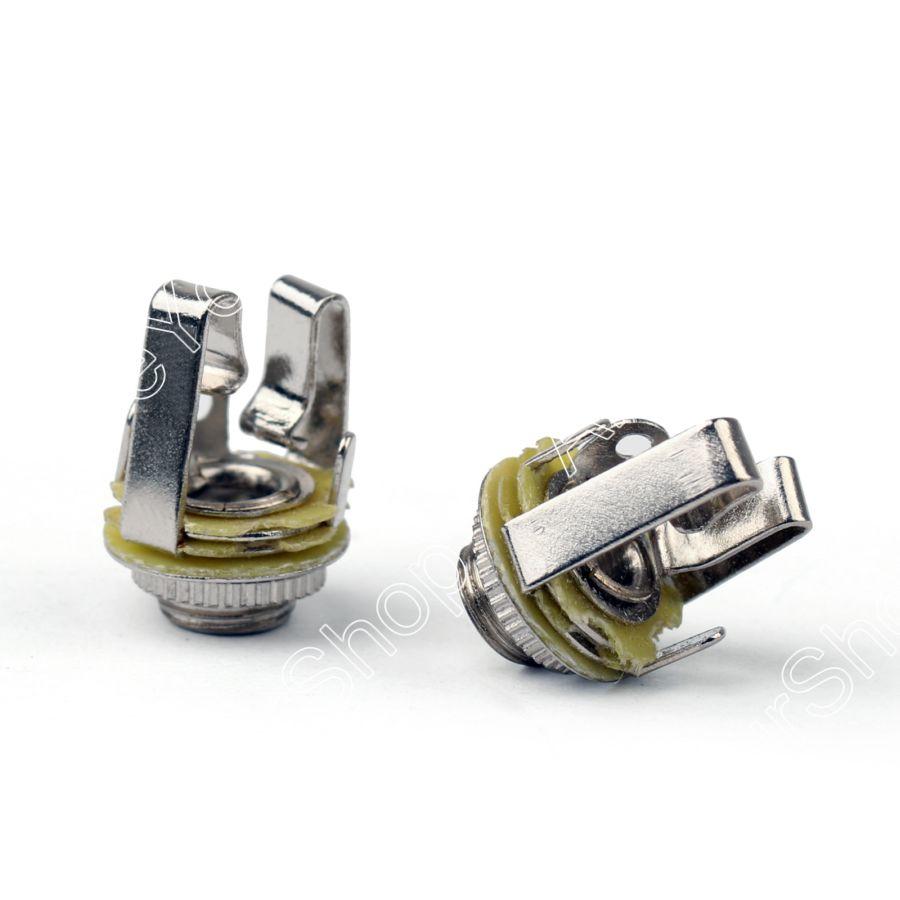 hight resolution of sale 10pcs 3 5mm stereo socket jack female connector panel mount solder for headphone 1