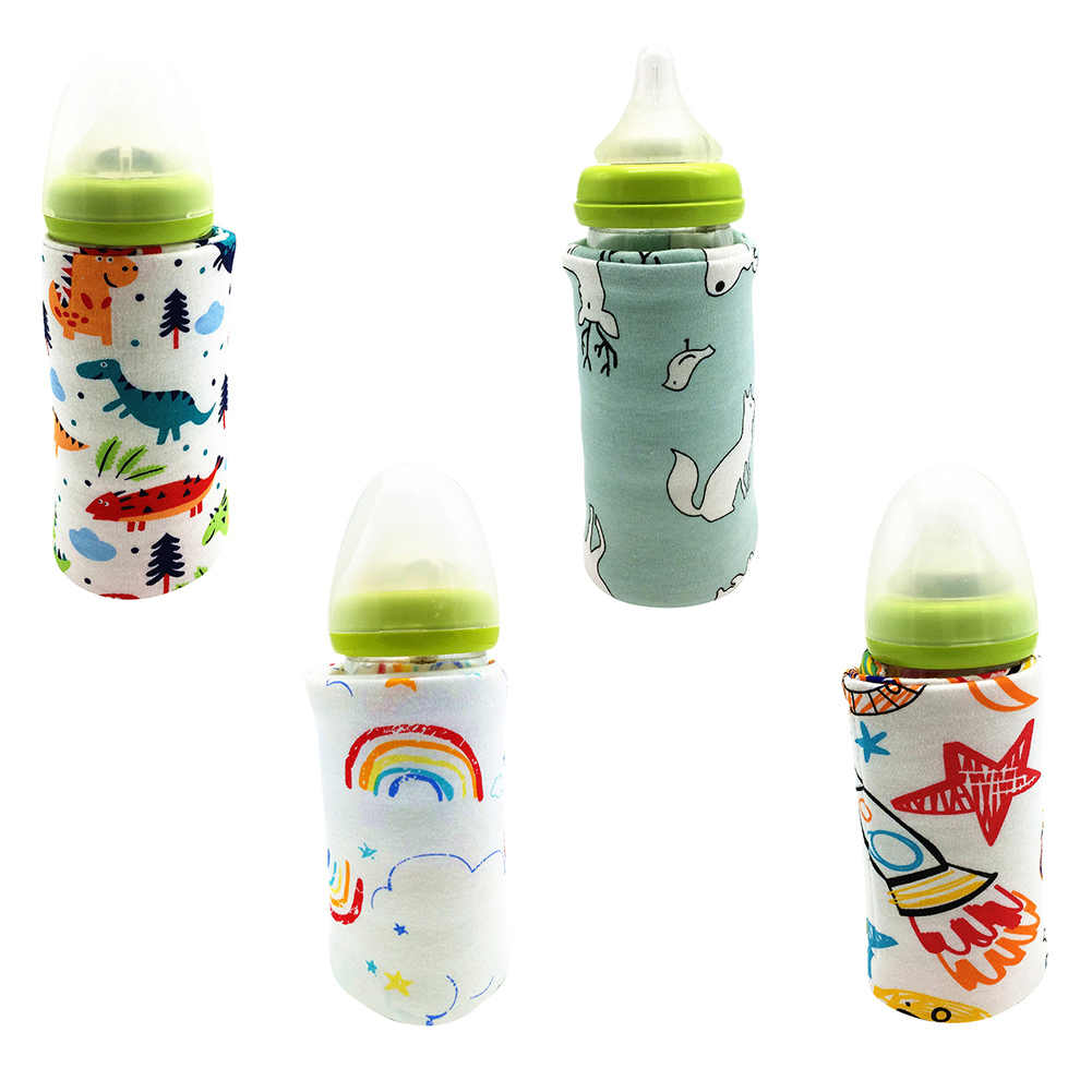 Fashion Portable Bottle Warmer Heater Travel Baby Kids Milk Water USB Cover Sleeve Pouch
