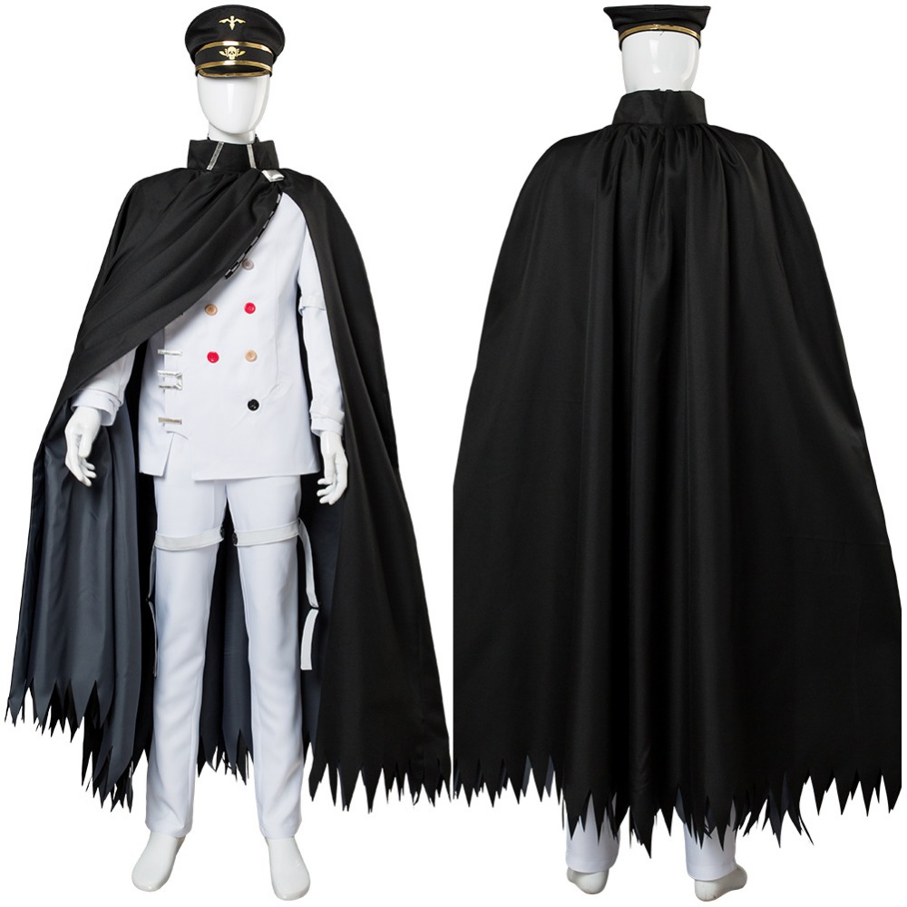 Danganronpa V3 Cosplay Killing Harmony Ouma kokichi Cosplay Costume Outfit Cloak Adult Men Women Full Sets Halloween Carnival