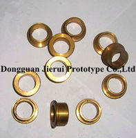 Rapid Prototyping Brass Parts Cnc Machining Small Parts High Precision Cnc Lathe Machined Piece