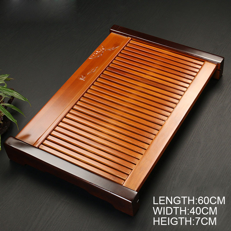 Traditional Solid Wooden Gong Fu Tea Table 5