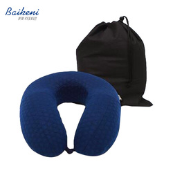 U Shape Neck Pillow Memory Foam Travel Pillow Neck Support For Airplane Plane Soft Slow Rebound Rest Sleeping Cushion Almohada