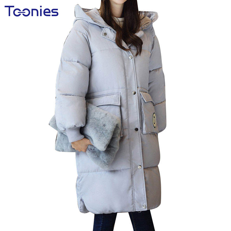 2017 Winter Long Coat Slim Hooded Warm Jacket Women Cotton Padded Zipper Parkas High Quality Straight Knee Length Coat Casacos qazxsw new winter cotton coat hooded padded women parkas mujer invierno 2017 winter jacket women warm casacos femininos hb221