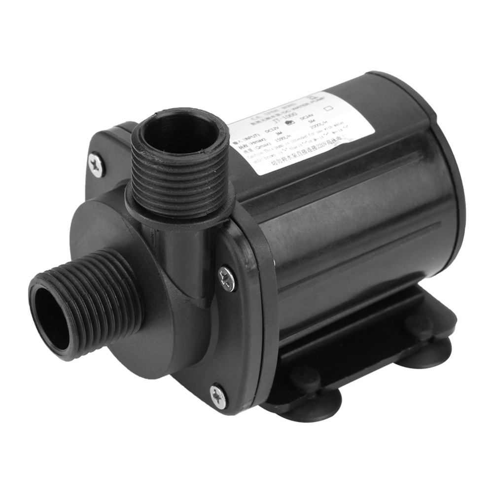24V High Hydraulic Head Submersible Water Pump DC Brushless Mini Boost Water Pump for Water Heater