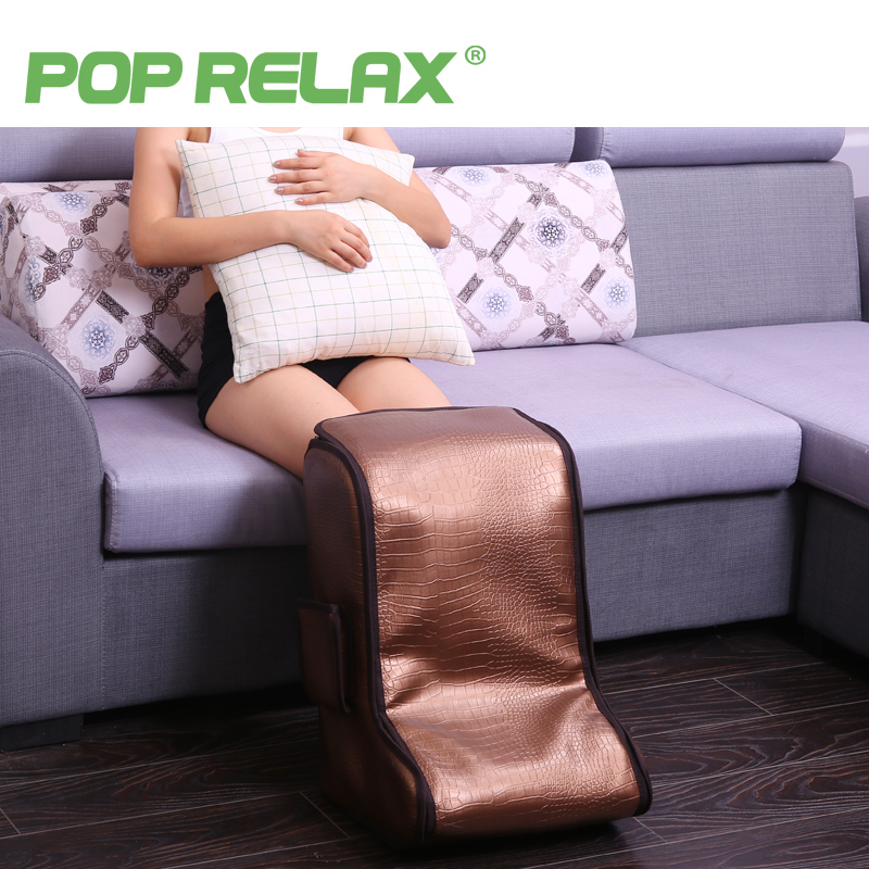 POPRELAX mini foot sauna room electric foot massage mat health far infrared heating therapy foot relax care spa leg massager can electric antistress foot massager vibrator foot health care heating therapy shiatsu kneading air pressure foot massage machine