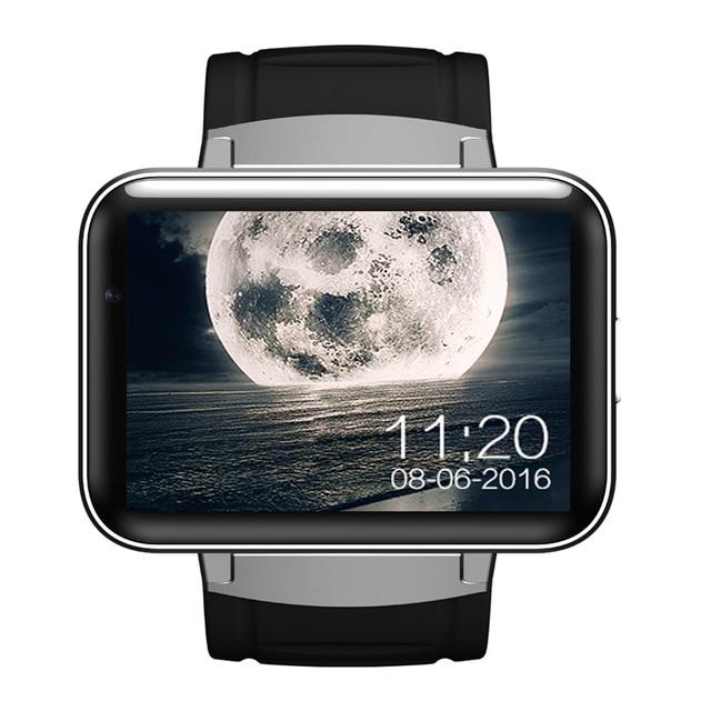 2016 DM98 Bluetooth Smart Watch Phone MTK6572 с 2 Г/3 Г SIM Камеры Android OS 5.1 Часы Smartwatch Наручные Часы 900 мАч GPS Wi-Fi