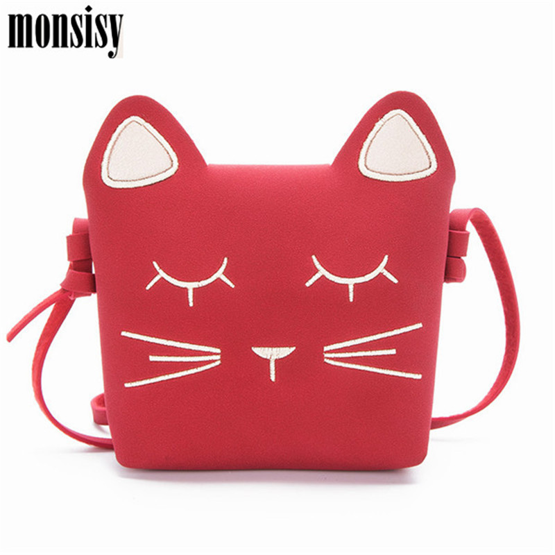 Monsisy Winter Cat Baby Girl Coin Purse Children Wallet Small Change Purse Kid Bag Coin Pouch Bag Toddler Money Handbag Gift modern pendant lights for children kids room bedroom lighting suspension luminaire basketball e27 bulb lamp led pendant light