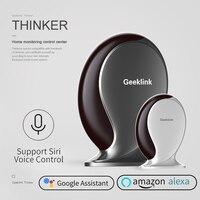 Geeklink Thinker WIFI+IR+RF Remote Control Siri Voice Controller for Amazon Alexa Google Home IFTTT 315/433 mHz Security Center