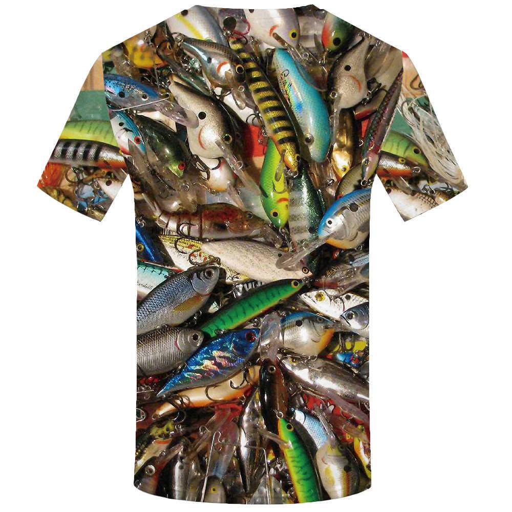 KYKU Fish Мужская 3D футболка, хип-хоп футболка, рыбак, тропический принт, футболка, Забавные футболки, летние, Fishinger Animal, мужская одежда