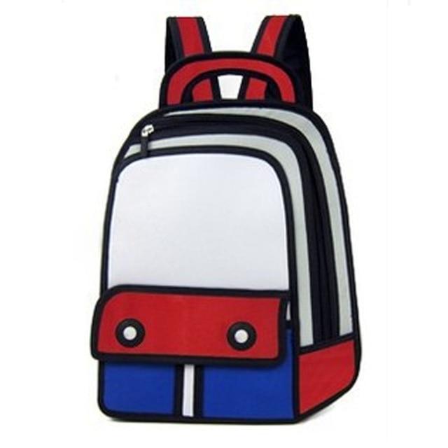 87fa061abb9b Backpacks Rucksack Nylon Bag Comic Men Women Universal School Bags  Wholesale Retail Recruitment Agent Support Free