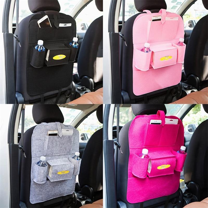 House objects Storage organizer Storage bag Car back seat Hanging bags Debris Storage Car seat back Felt Chair back pocket