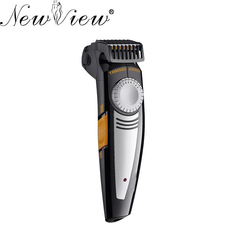 NewView Electric Hair Clipper Rechargeable Hair Trimmer Shaver 2in1 Professional Haircut Machine Beard Trimmer Hairclipper lonbv lch 8560 12w rechargeable hair clipper 220v 2 flat pin plug