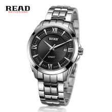 relogio masculino READ Top brand men s automatic mechanical watches Luxury stainless steel waterproof watch 8005