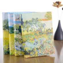ФОТО b5 originality oil painting hardcover sketch basis blank doodle thickening 16k student scenery sketch basis notepad notebook