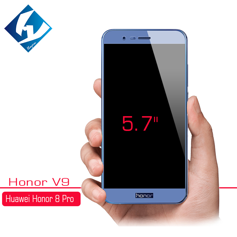 Galleria fotografica 2pcs/lot 9H Full Screen Tempered Glass For Huawei Honor V9 DUK-AL20 Screen Protector Film For Honor 8 Pro Play V10 6C Pro