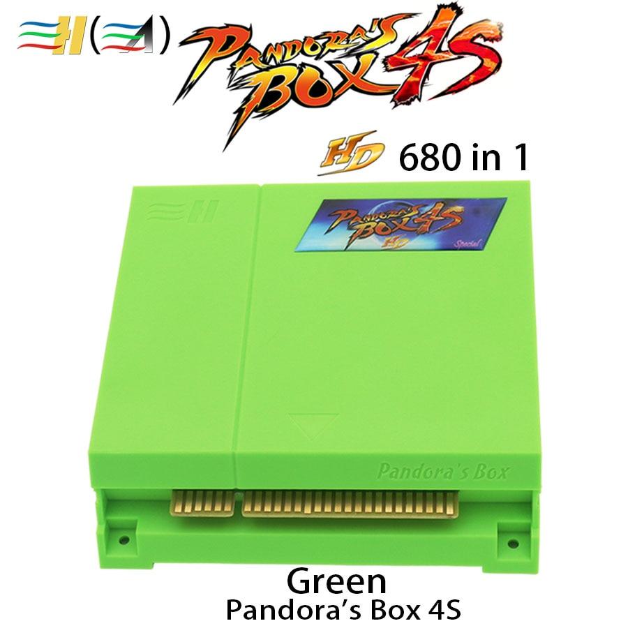 Caja de Pandora 4S HDMI 680 en 1 Juego Multi Jamma Tablero de Pandora caja de 4S