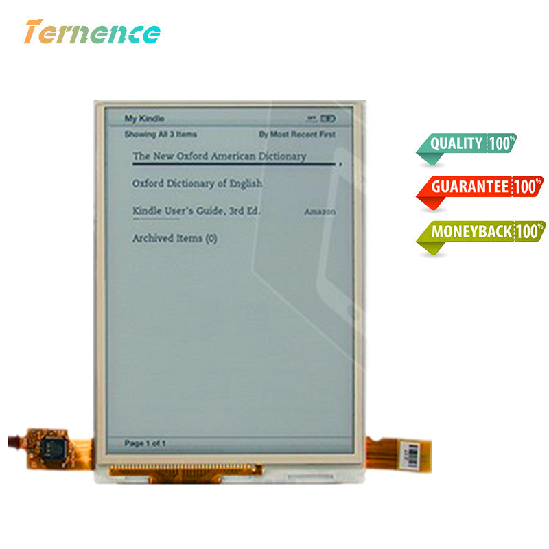 Skylarpu Original 6''inch ED060SCC(LF)C1 LCD Display Screen For 6inch E-Reader Ebook reader LCD Module Panel Free shipping