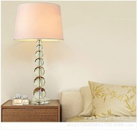 K9 Kristal yuvarlak masa lambası Lambası Lüks Yatak Odası Başucu Oturma Odası yatak lambası Lüks Zanaat Masa Lambası Serisi
