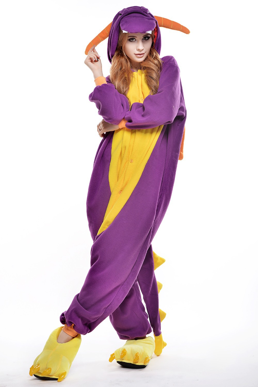 The Purple Dinosaur Plus Size Halloween Costume for Women/ Mens ...