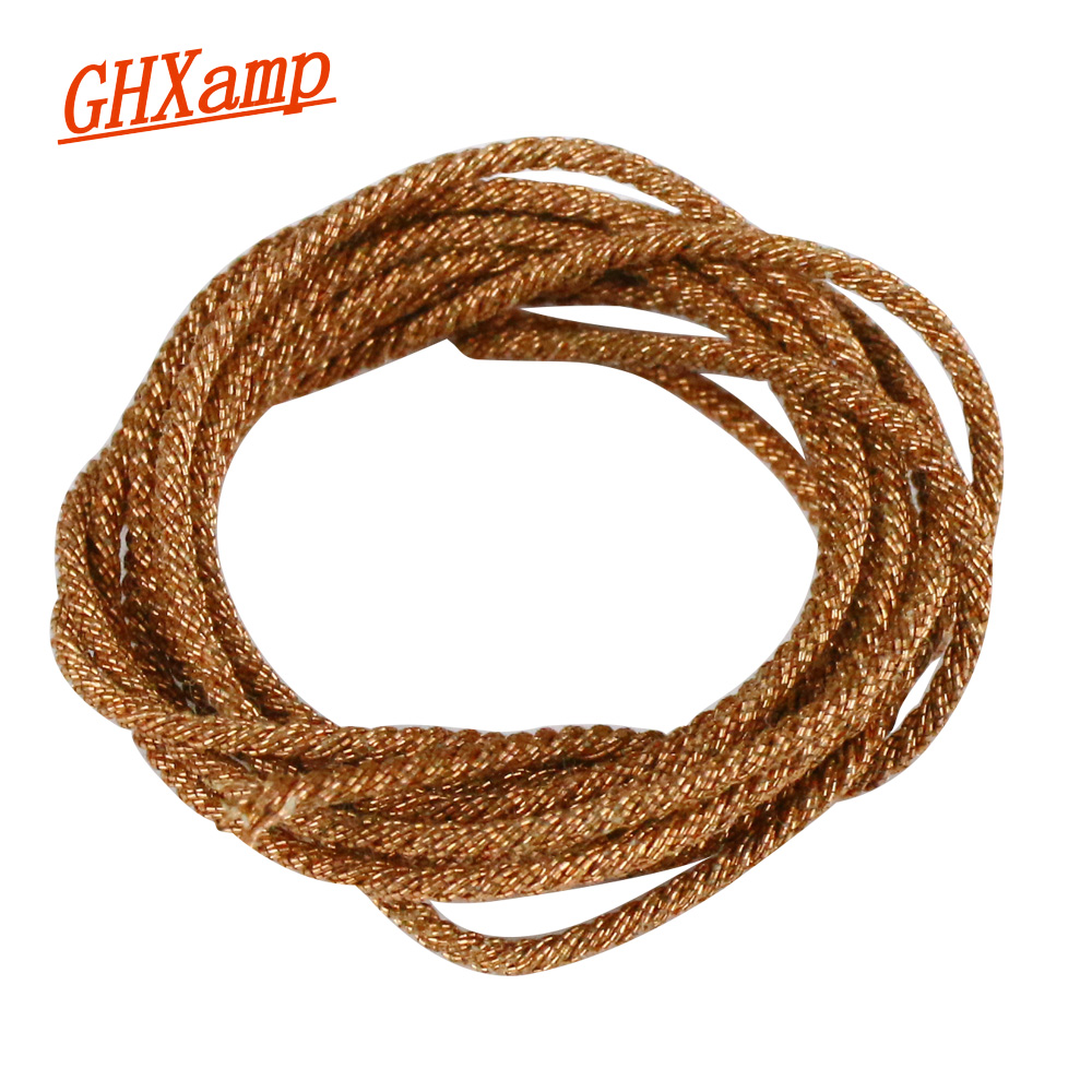GHXAMP 10 Strands Subwoofer Speaker Lead Wire Braided Speaker Wire For Woofer Home Audio Speakers Repair Parts Cop1M