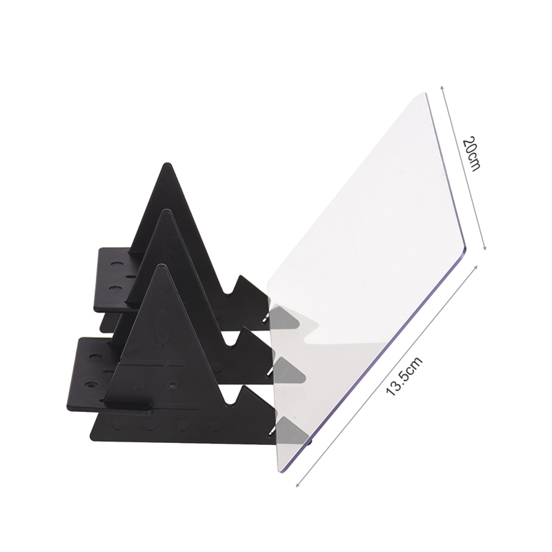 Led Projection Optical Drawing Board Sketch Specular Reflection Dimming Bracket Bracket Painting Mirror Plate Zero Base Painti